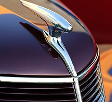 1937 Ford Coupe Hood Ornament by Jill Reger