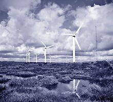 Ovenden Windfarm I by ThePingedHobbit