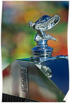 1948 Rolls-Royce Hood Ornament by Jill Reger