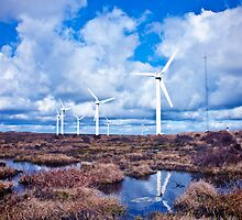 Ovenden Windfarm I (Colour) by ThePingedHobbit