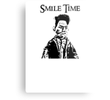 Smile Time Metal Print