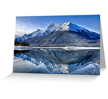 Spray Valley Provincial Park Greeting Card