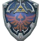 Hylian Shield case by veilstone