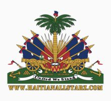 Haitian Coat of Arms  by Haitianallstarz