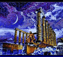 The Temple of Poseidon by Richard  Gerhard
