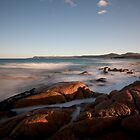 Friendly Beaches Sunrise, Tasmania by David Jamrozik