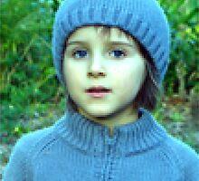 Blue Pixel Magnus by blubber