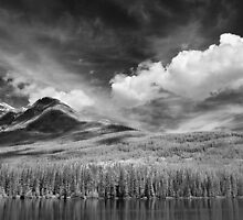 Clouds Near Pyramid Mountain  by Ian Robertson