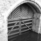 Traitors Gate - Tower of London by Audrey Clarke