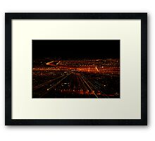 The Boarder Framed Print