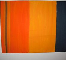 Stripes Orange  by WildWill