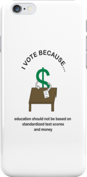 I Vote Education by ValeriesGallery
