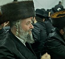 """7 ★★★★★ . A tish takes place at the meals in honor of the Shabbat, Jewish holidays, yahrzeit (""""annual memorial"""") for previous rebbes of that dynasty. by Doktor Faustus. Fav 2  views 256 .  Hat Heads ! by © Andrzej Goszcz,M.D. Ph.D"""
