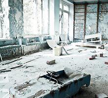 Scrapyard ~ Pripyat  by Josephine Pugh