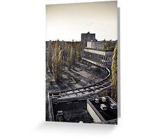 Pripyat: Model City  Greeting Card