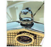 Ford Quail Mascot Poster