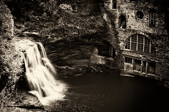 The Old Power Plant by Jeff Palm Photography