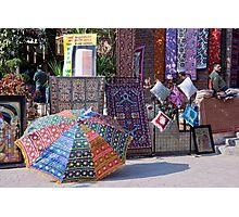 Fabrics, Materials, And Carpets Photographic Print