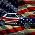Captain America 1964 Mustang by TeeMack