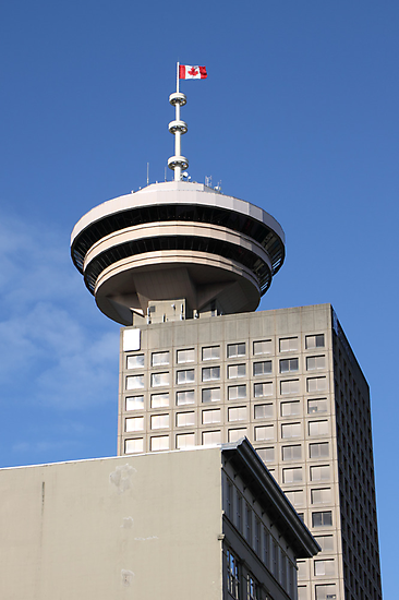 Vancouver Tower & Observation Deck by Carole-Anne