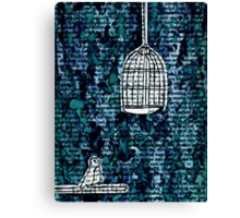 The Bird Cage Canvas Print