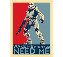 Halo 3 - Wake Me When You Need Me Photographic Print