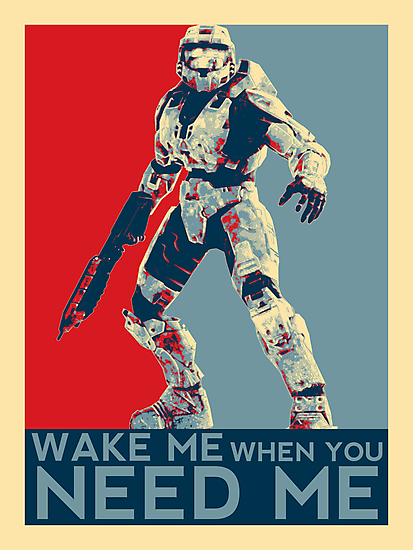 Halo 3 - Wake Me When You Need Me by FlgStudios
