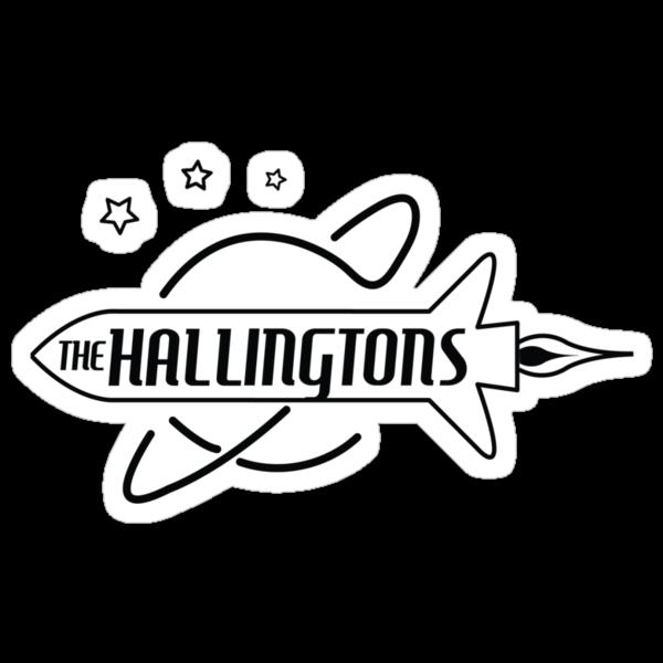 The Hallingtons - Rocket (Black print) by misoramen