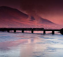 Iron Bridge, Cahersiveen, Co Kerry. by AlanJLanders