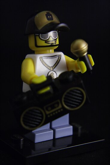 Lego Homeboy by Justin Gittins