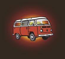 Bay Window Campervan Sunburst by Ra12