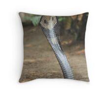 Don't get to close Throw Pillow