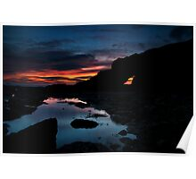 Cullercoats Sunrise Poster