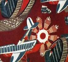 Soviet design, c 1920-1930 by BettyBanana