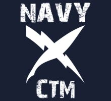 US Navy CTM Insignia - White by courson