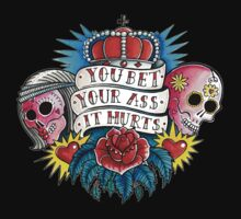 Tattoo T-Shirt - Bet Your Ass It Hurts by Helen Aldous