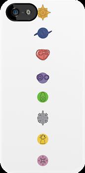 Digimon Crests. by KatValentine