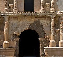 Tumacacori Mission Entrance by kingfisher02