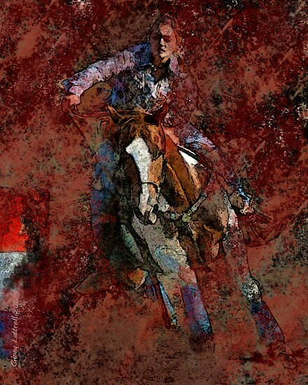 The Barrel Racer by Ginny Luttrell