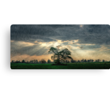 After the Storm Oil Painting Canvas Print
