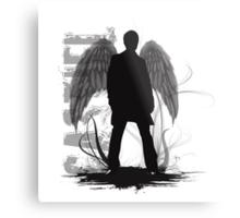 Castiel the Angel Metal Print
