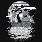 Must learn balance Luigi-san (Black)  by InkOne