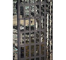 Tower Reflections, Vancouver, Canada Photographic Print