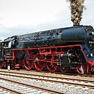 German class 01 Steam Locomotive. by David A. L. Davies