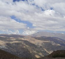 Clouds over the Andes by julie08