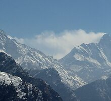 Mighty Nanda Devi  by forkartik