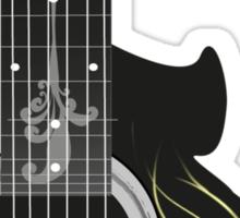 Acoustic Guitar Impression Sticker