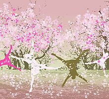 Hanami - Cherry blossom by Marlies Odehnal