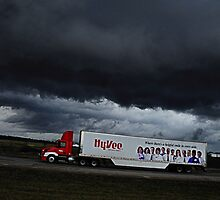 Storms from the Road #1 by Thomas Eggert