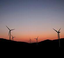Windfarm by GuyHinksPhoto